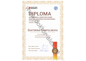 Diploma International dissection course basic and advenced fess procedures